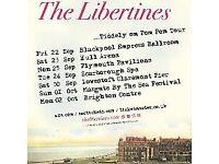 Libertines ticket