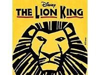 Lion king theatre tickets
