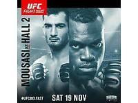 2 X UFC VVIP TICKETS BELFAST