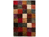 John Lewis Jute blanket rug rustic colours excellent condition