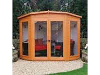 Brand new sheds and summerhouse for sale