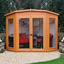 For sale brand new delivered and assembled garden sheds and summerhouses.