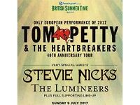 Tom Petty and the Heartbreakers at Hyde park July 9th