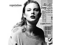 2 x Seated Taylor Swift tickets, London, 22 June 2018