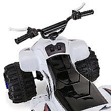 Pacific ATV 12V Powered Ride On - White *NEW in box*