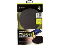 ATOMI Black Wireless Charging Pad
