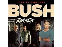 FREE BUSH TICKETS (Yes you did read that correctly)