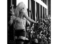 Pretty Reckless tickets O2 Ritz Manchester 24th Jan x2