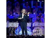 Andre Rieu SSE Arena Wembley 22nd December 4 tickets