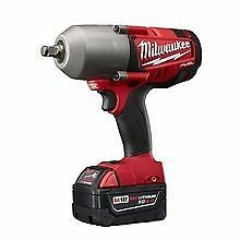 brand new milwaukee m18 fuel 1 2 034 drive impact gun wrench most powerful cordless ebay. Black Bedroom Furniture Sets. Home Design Ideas