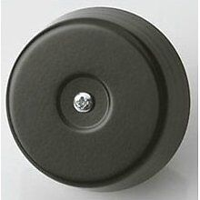Dome Door Bell  - 85db Loud - Metal Black Underdome D792 8V AC Friedland