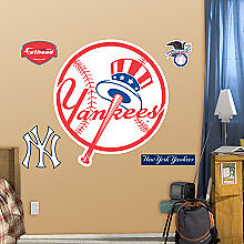 New York Yankees Fathead Logo Wall Sticker Removeable Reuseable Kitchener / Waterloo Kitchener Area image 2