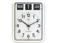 Wall and Calendar 'Dementia and Alzheimer's' Clock