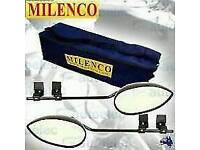 Milenco Towing Mirrors with storage bag