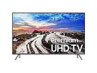 "Samsung UE49MU7070 SUHD HDR 1000 4K super Ultra HD Smart TV, 49"" with TVPlus/"