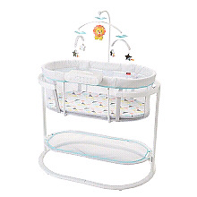 Soothing motion bassinet