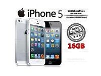 APPLE IPHONE 5 16GB (GOOD CONDITION) *FREE TEMPERED GLASS*