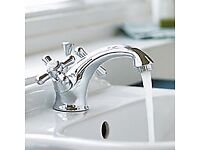 IDEAL STANDARD CHROME KINGSTON MONO BASIN TAP WITH CHROME LEVER FOR POP UP WASTE