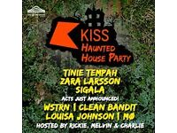 Kiss Haunted House Party 2016, Wembley LONDON, TONIGHT! 4x lower block N10 tickets for sale