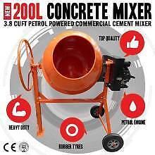 Petrol Concrete MIXER in stock  -  Bakery Hill Ballarat City Preview