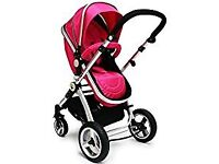 Isafe Travel System - Raspberry Pink