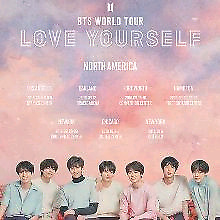 Two BTS tickets for Sep 23@6pm