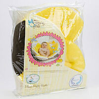 NEW! Never Used! Blooming Bath Plush Baby Bath - Canary Yellow