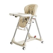 peg perego prima pappa leather high chair