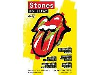 Rolling Stones - Manchester - VIP Early Entry - June 6 - £180 - Tumbling Dice Package