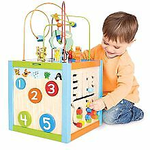 Toys R Us Baby Toddler Bead Maze Cube Activity Table Toy Learnin Kitchener / Waterloo Kitchener Area image 1