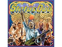 2 x VIP TICKETS STATUS QUO AT 02 ARENA LONDON – SUNDAY 11TH DECEMBER 2016