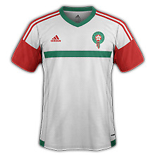 Tenues football/soccer EQUIPE NATIONALE MAROCAINE