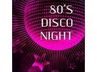 Charity 80s night supporting Teenage Cancer Trust & Southwick Rangers fc