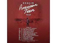 Khalid Concert Tickets 14/02/18 x2 @ Eventim Apollo Hammersmith