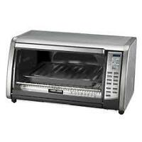 Black and Decker Toaster Oven and Cuisinart Coffee Maker
