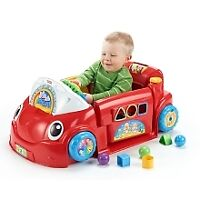 IN SEARCH OF: Fisher price laugh and learn crawl around car.