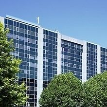 A prominent modern building situated at a prime business area, office space in TW8 from £200pcm