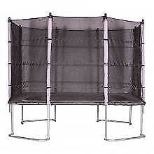 New Tramp  SALE  Rectangle Trampoline with Enclosure 3m x 2.1m