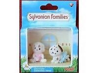 Sylvanian Families Chocolate Dalmation Baby Twins