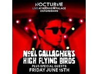 Noel Gallagher's High Flying Birds tickets - Blenheim Palace 15 June