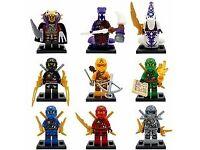 ninjago minifigures sale marvel,starwars fits lego mini figures