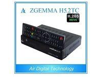Brand new Zgemma H5.2tc Triple tuner receiver - DVB-S2 + 2*DVB-T2/C Dual Hybrid tuners
