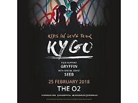 Two Kygo Tickets