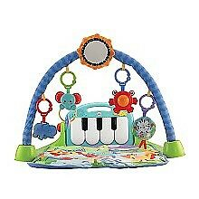Infant piano play mat