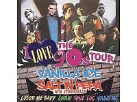 2 x I love the 90s tickets. Sat 7th Oct