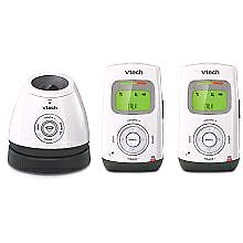 Safe & Sound Digital Audio Baby Monitor with two parent Units