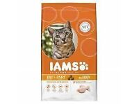 24 BAGS OF IAMS ADULT CHICKEN 300G BBE 04/17 £20 COLLECTION SPEKE LOADS OF OTHER CAT/DOG FOOD AVAIL