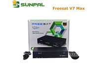 smalll skybox freesat 7 openbox with all channels
