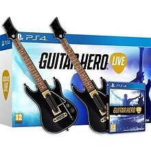 guitar hero live and 2 guitars for PS4 almost new..with box