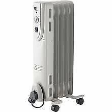1 kw oil filled electric heater, as new